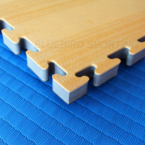 Floor Tatami Mats Wood Grain, Martial Arts Mats, Bluebird