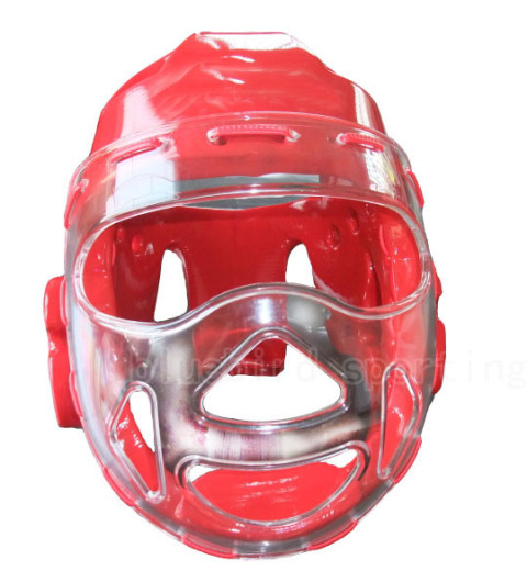face shield taekwondo head gear
