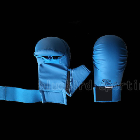 karate mitts blue