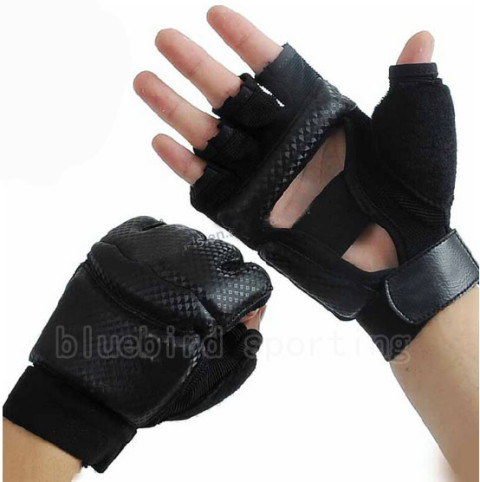 black taekwondo gloves