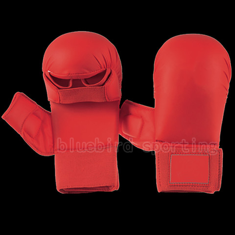 karate mitts red
