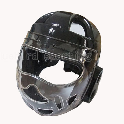 Headgear With Plastic Face Mask Discount Martial Arts